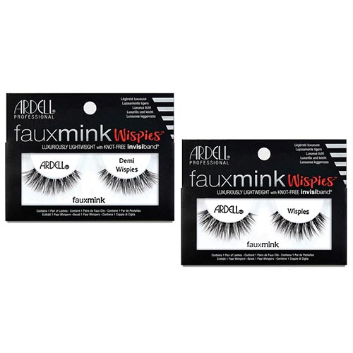 FAUX MINK STRIPS WISPIES